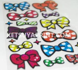 キラキラエポキシ樹脂シール KTY087